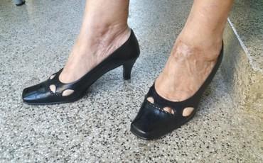 494 oglasa | ŽENSKA OBUĆA: Crne cipele 39   Polovne cipele, jako dobro očuvane.  Italijanske mark