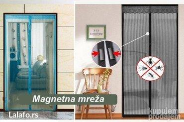 Magnetna zavesa protiv komaraca nova - Beograd - slika 7