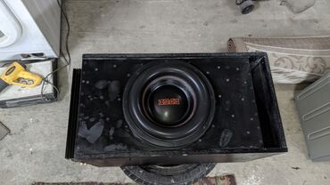 Аудиотехника - Кыргызстан: Продам саб+моноблок+короб. Усилитель мощности АСВ 1.1800 ваттСабвуфер
