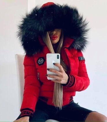Jakna sa krznom - Srbija: Prelepe tople jakne sa bujnim,krznom na kapuljači -šok cena samo kod n