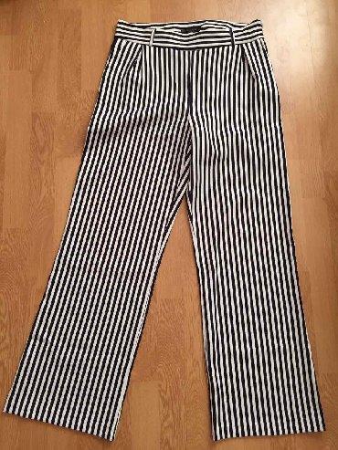 Pantalone struk duzina - Srbija: Pantalone vel.L pise XL ali nisuDuzina 108cmStruk 42cmDubina