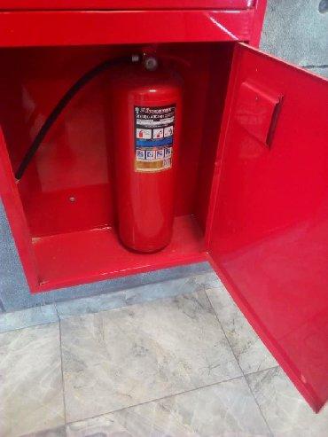 Огнетушитель ОП5 для тушения твердых горючих веществ; горючих газов; г