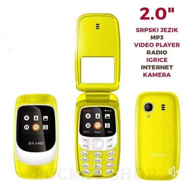 Rad preko interneta - Srbija: 𝗠𝗢𝗕𝗜𝗟𝗡𝗜 𝗧𝗘𝗟𝗘𝗙𝗢𝗡 𝗡𝗔 𝗖𝗘𝗡𝗔 2000 𝗥𝗦𝗗Kamera: 2MP (LED blic)Ekran