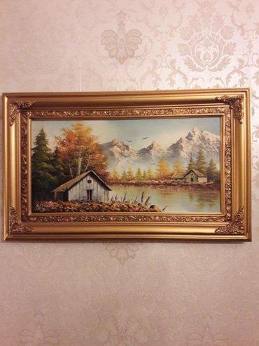 """Картины иранского художника, 3000 сомов за каждую. картина """"Цветы """" р-"""