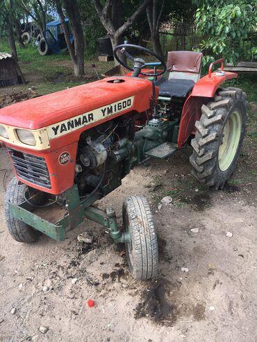 Транспорт - Кызыл-Суу: Мини трактор yanmar 1600 Состояние хорошее  Заводится со стартера  Без