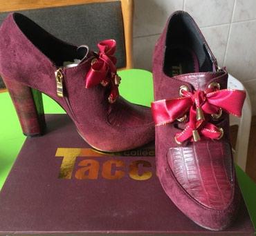 - Azərbaycan: Tufli (Zamşa ve koja ) Tacco collection italiya bir defe geyinilib