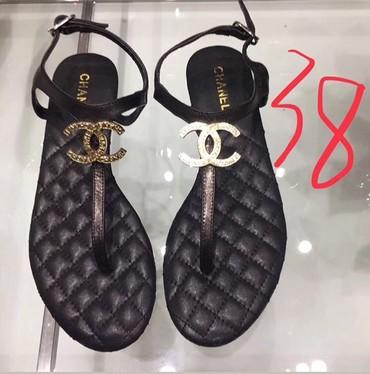 сандали 38 размер в Кыргызстан: Сандали Chanel, овечья кожа, размер 37-38
