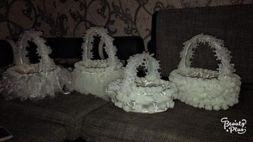 Корзины для приданного на прокат в Лебединовка