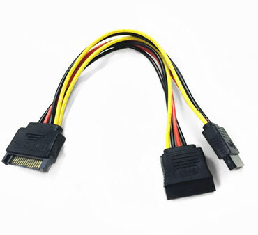 кабели и переходники для серверов minisas sata в Кыргызстан: Кабель питания SATA- 2x SATA