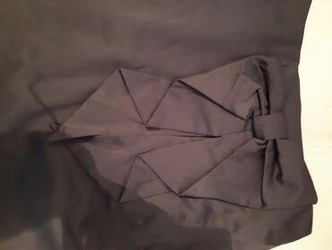 Suknja HM 38 i poklon Mango M saten roze majica zadnja cena