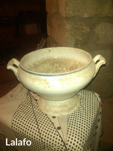 Gəncə şəhərində Farfor sup qabı-material farfor. çiniqab. Qapaqsız.