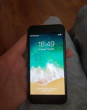 Продаю iPhone 7 128 гб черный в Бишкек