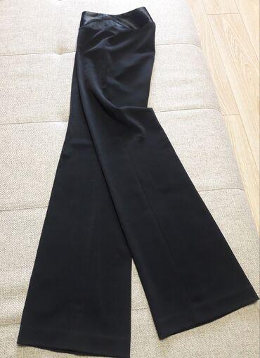 Продаю шикарные турецкие брюки, прямые, с атласным поясом и сетчатой