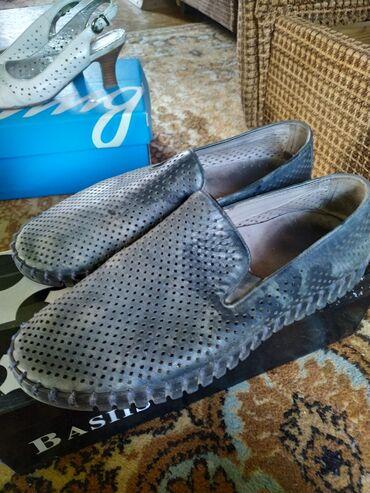 Мужская обувь 38 размер Турция натуральная кожа, покупали за 4000