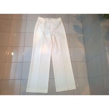 Παντελόνι λευκό Stefanel - Νο.Small / 38Μεταχειρισμένο σε άριστη