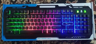 Город Кара-БалтаПродаю Игровую клавиатуру с подсветкойАбсолютно новаяС