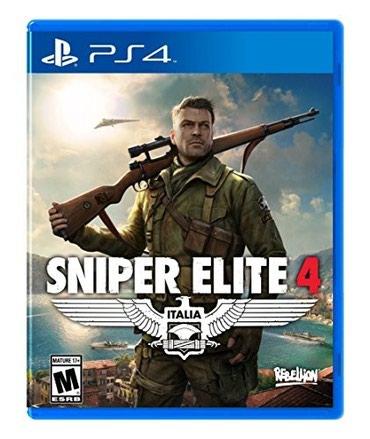 Bakı şəhərində Sniper elite 4 ps 4 üçün
