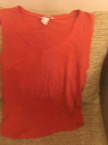 Majice komada - Srbija: Majica za trudnice elegantnija narandzasta vel Mjednom obucena, kao