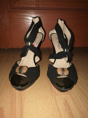 Sandale jednom nošene, štikla 12cm veličina: 38 - Sombor