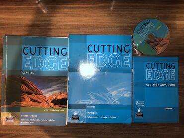 İngilis dili Cutting Edge starter diskli