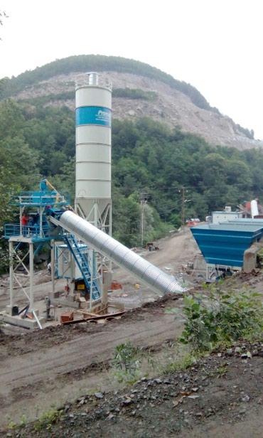 Компактный бетонный завод C60 SNG PROMAX в Бишкек