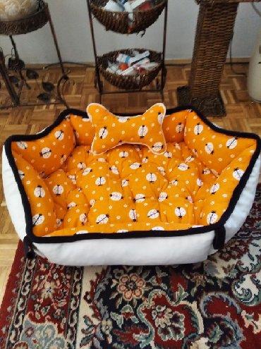 Masina za kucanje - Srbija: Unikatni krevetac za kuce radjen od prirodnog materijala u obliku
