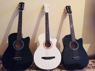 0225 какой оператор в Кыргызстан: АБСОЛЮТНО НОВЫЕ АКУСТИЧЕСКИЕ гитары 38го размера.  Чёрные - 3500 сом