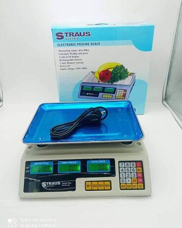Digitalna vaga do 40kg Straus AustriaSamo 2.900 dinara.Porucite odmah