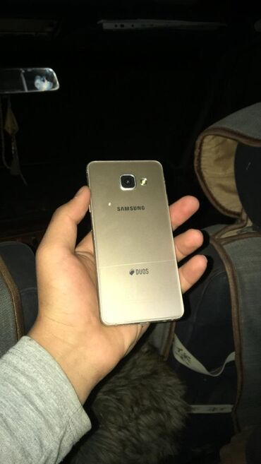 green card dv lottery 2018 в Кыргызстан: Б/у Samsung Galaxy A3 8 ГБ Золотой