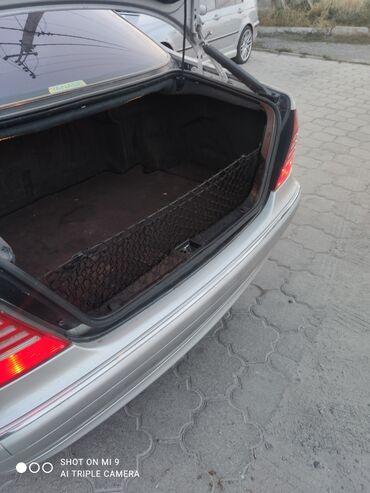 Сетка родная в багажник, w220 s класс, лиса