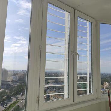 Решетки на открывающуюся часть окна из металла! Наша фирма