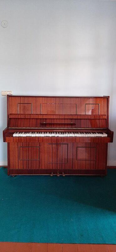 İdman və hobbi Göytəpəda: Masallıda, piano Belarus. İşlənmişdir. Kökləməyə ehtiyacı var