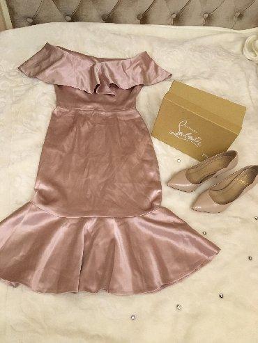 вечерние платья для свадьбы в Кыргызстан: Продам вечернее платье вместе с туфлями.Одевала 1 раз на свадьбу
