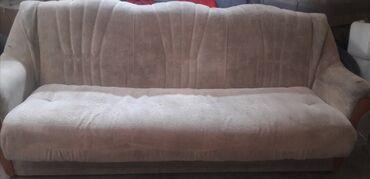 tkan dlja obivki kuhonnoj mebeli в Кыргызстан: Продаю мягкую мебель тройка б/у в хорошем состоянии