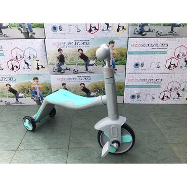 велосипед урал цена в Кыргызстан: Беговел самокат и велосипед 3в1, с музыкой и подсветкой. Отличного к