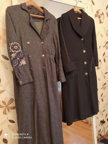Продам пальто. Разные 2 штуки. Производство Турция. Размер 46-48. Цена