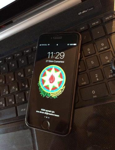 Bakı şəhərində Iphone 6 16 gb barmag izi islemir nagd satilir yaxsi vezyetdedi