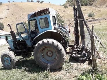 триммер ручная косилка в Кыргызстан: Продаю трактор с косилкой Т40