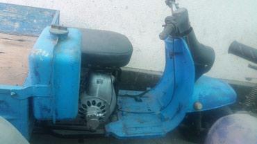 Мотоциклы и мопеды - Кок-Ой: Мотороллер Муровей : бензиновый двухтактный двигатель с принудительным