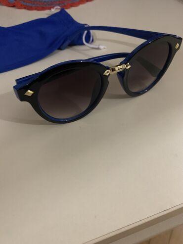 Маски, очки - Азербайджан: Дорогие очки с оправой синего цвета купленны в Берлине.Очень модные