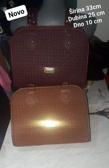 Tašne | Leskovac: Nova torba čvrsta dostupna u dve boje Braon i bordo Dimenzije na slici