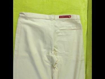 Pantalone-boja - Srbija: Tdi pantalone,100% pamuk,nove,vel. 33,sampanj boja