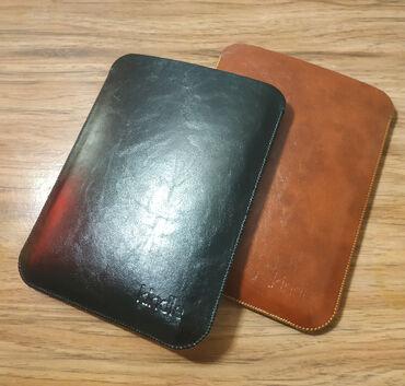 Электронные книги - Кыргызстан: Стильный кожаный чехол-кармашек подходит на все модели Kindle с
