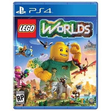 Bakı şəhərində Ps4 üçün lego world's oyun diski satılır Yenidir bağlı upokovkada
