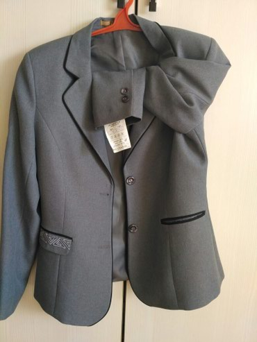 Продаю новый женский школьный пиджак 44размер.рост170 в Лебединовка