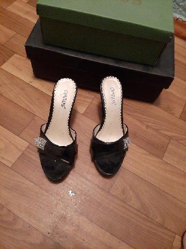 Продам сабо_шлепки на каблуках. Размер 36_37. Цена 500 сом