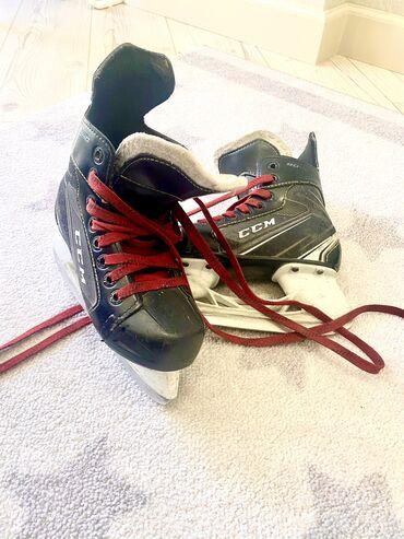 Коньки для хоккеистаCCM, возраст 5-7 лет, размер 31, состояние хорошее