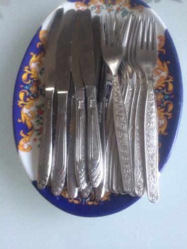 Вилки , ножики - нержавейки по 10 шт. 600с за 20 шт. ( советские) в Ат-Баши