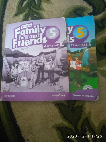 Family and friends workbook and classwork всего за 700 сомов