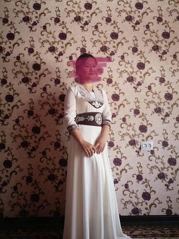 Национальное платье 3в1 платье ремень, белдемчи. Было надето один ра